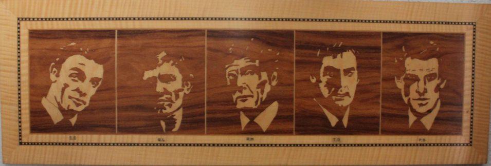 Bonds five actors c1995