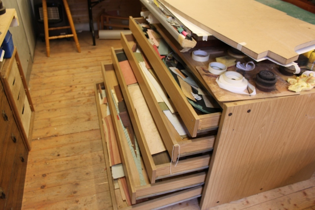 Originally a draughsmans table for holding prints