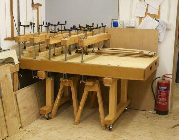 Detachable cauls to convert as a work table